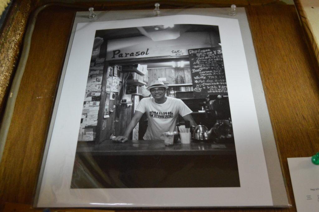 牧志公設市場近くの小さなCafe Parasol